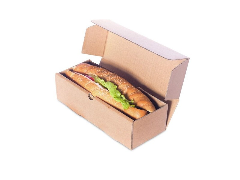 Die-cut picnic boxes for food transportation