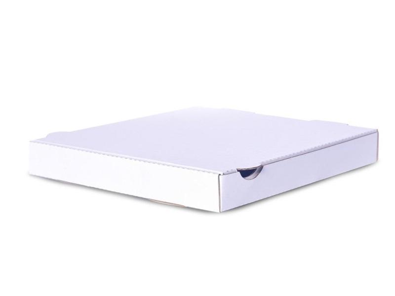 White pizza box