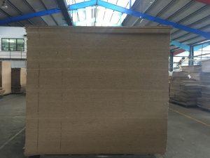 Pallet of cardboards