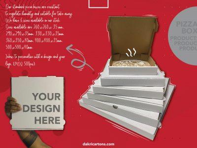 Pizza boxes - Dakri Cartons