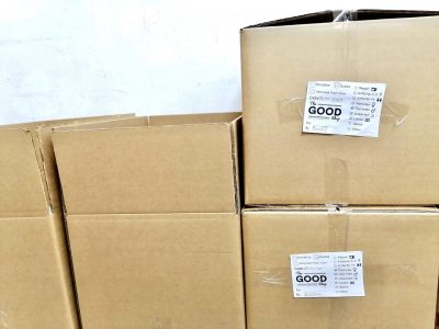 For its Corporate Social Responsibility project, Dakri Cartons donates carton boxes to The Good Shop